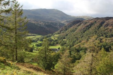 Yew Tree Farm, below Wetherlam and Holme Fell, Tarn Hows