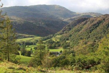 Yew Tree Farm, below Wetherlam and Holme Fell, Tarn Hows