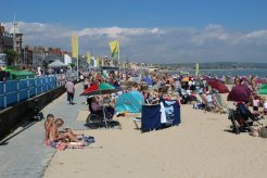 Beach and Esplanade. Weymouth and Portland Sailing, Olympic Games 2012