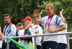 Chris Hoy, Cycling. Olympic and Paralympic Victory Parade 2012