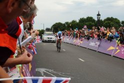Denise Ramsden, Canada, Hampton Court. Olympic Road Cycling Time Trials, 2012