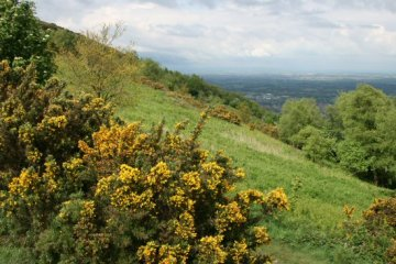 Eastern slopes, Malvern Hills