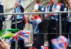 Ellie Simmonds, Swimming. Olympic and Paralympic Victory Parade 2012
