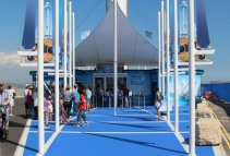 Entrance, Sea Life Tower. Weymouth and Portland Sailing, Olympic Games 2012