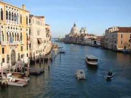 Grand Canal, from Accademia Bridge Venice