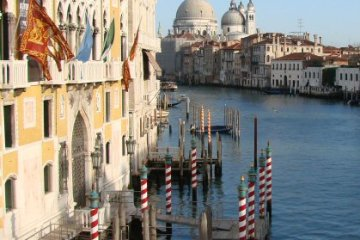 The Salute, from Accademia Bridge, Venice
