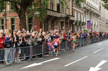 Great George Street. Women's Olympic Marathon, 2012