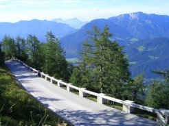 Kehlstein Road, leading to the Eagle's Nest