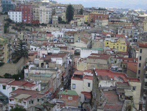 Naples, from Corso Vittorio Emanuelle