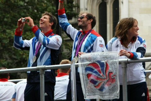 Olympic and Paralympic Victory Parade 2012