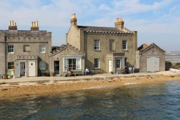 Quayside Buildings, Brownsea Island