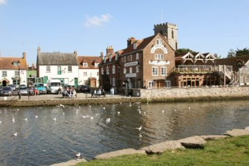 River Frome and The Quay, Wareham