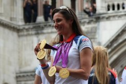 Sarah Storey, Cycling. Olympic and Paralympic Victory Parade 2012