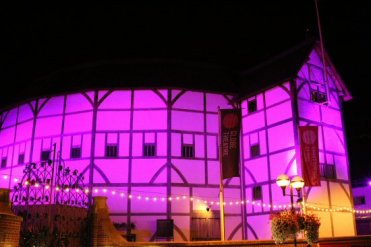 Shakespeare's Globe Theatre, Bankside. London 2012 Olympic Games