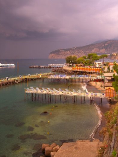 Storm over Marina Grande, Sorrento