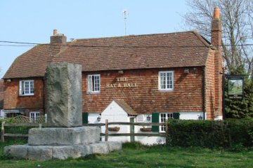 The Bat and Ball Inn and Cricket Memorial, Hambledon