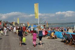 The Esplanade. Weymouth and Portland Sailing, Olympic Games 2012