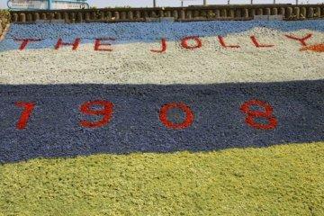 The Jolly Fisherman Centenary Flower Beds, 1908-2008, Skegness