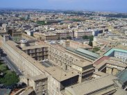 Vatican Museums, from the Cupola of St. Peter's Basilica, Rome