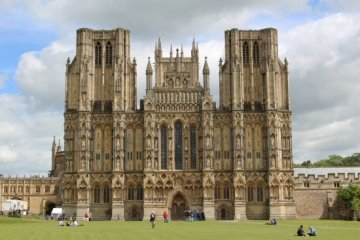 West Front, Wells Cathedral, Wells