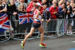 Yoshimi Ozaki, Japan. Women's Olympic Marathon, 2012