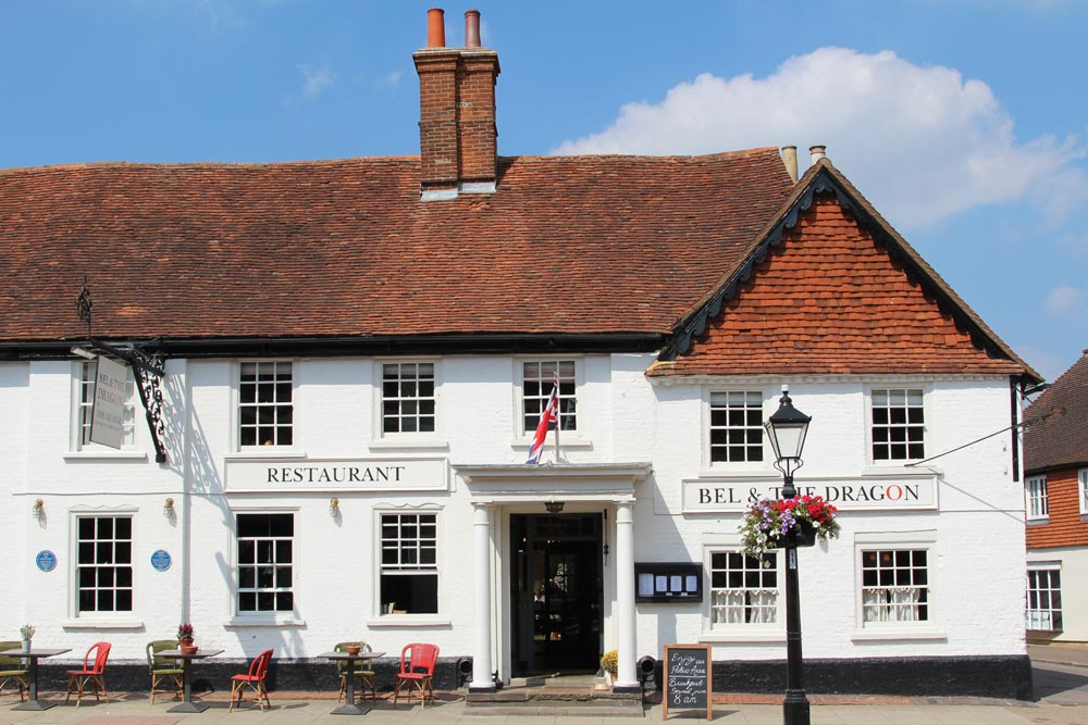 Bel & The Dragon at The George, Odiham