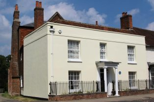 Home of Brigadier Manley Angell James, High Street, Odiham