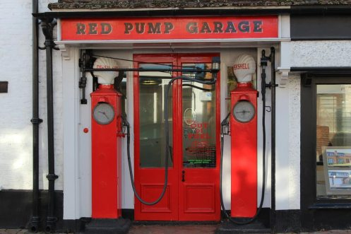 Petrol Pumps, in Roald Dahl's Danny the Champion of the World, Great Missenden