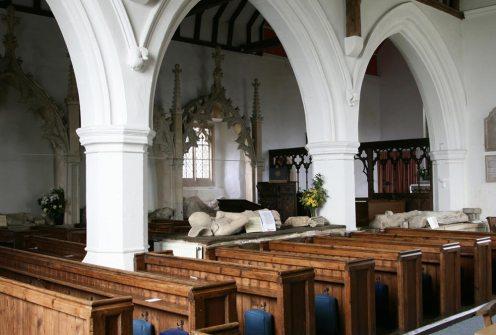 Aldworth Giants, St. Mary's Church, Aldworth