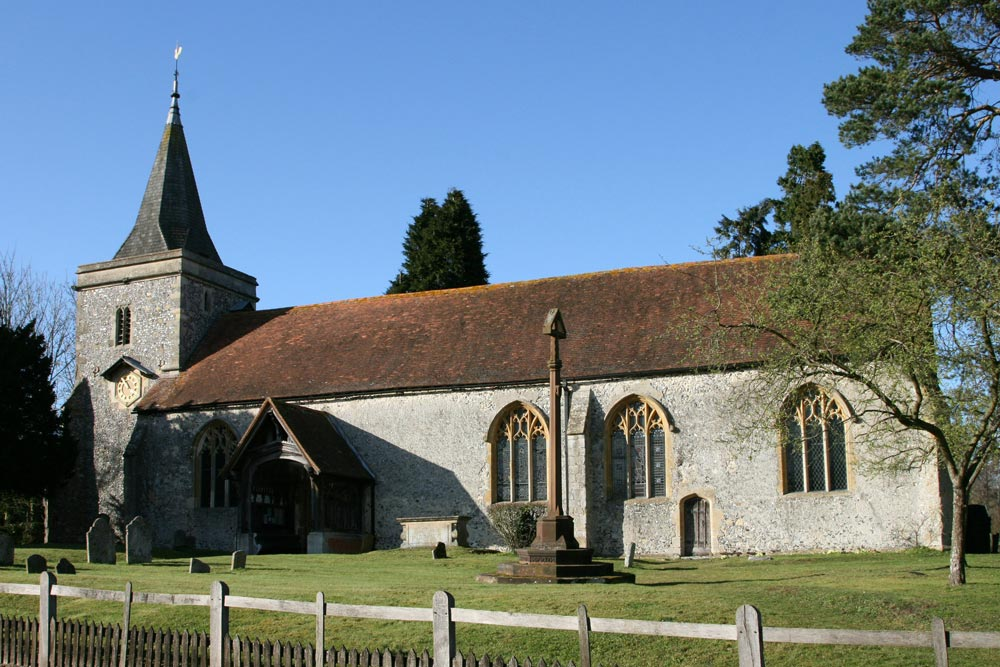 St. Peter and St. Paul Church, Yattendon