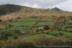 Bonehill Rocks, from St. Pancras Churchyard, Widecombe-in-the-Moor