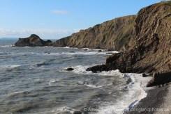 Broad Beach, between Hartland Quay and Hartland Point