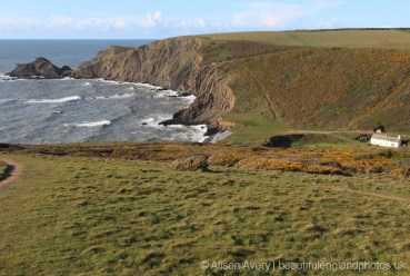Cliff path to Hartland Point, from Hartland Quay