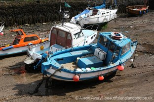 Fishing boats, Lynmouth Harbour, Lynmouth