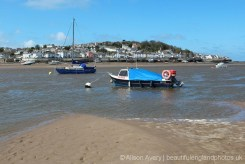 Instow Ferry, River Torridge and Appledore, from Instow