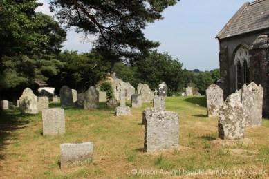 St. John the Baptist Churchyard, North Bovey, Dartmoor