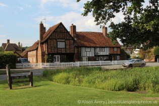 The Old Manor House, Manor Cottage and the Stocks, Aldbury