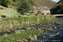 Tregonwell Teas and East Lyn River, Lynmouth