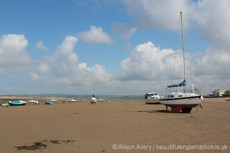 Yacht, Instow Beach, Instow