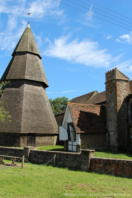 Bell Tower, St. Augustine's Church, Brookland, Romney Marsh