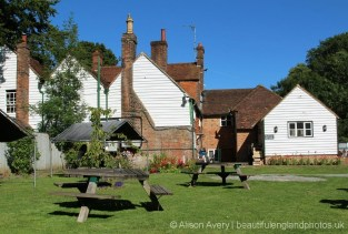 Garden, Halfway House pub, Brenchley