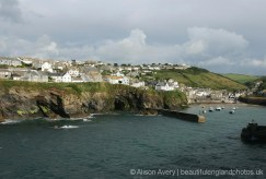 Harbour, from Lobber Point, Port Isaac