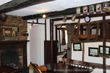 Interior, Halfway House pub, Brenchley