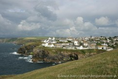 Port Isaac, from Lobber Point