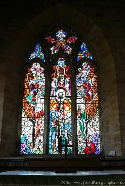 Stained glass window, St. Margaret's Church, Horsmonden