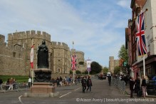 Castle Hill, The Queen's 90th Birthday, Windsor