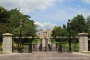 Gates, leading to King George IV Gate, Windsor Castle, Windsor