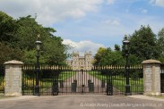 Gates, leading to King George IV Gate, Windsor Castle, Windsor