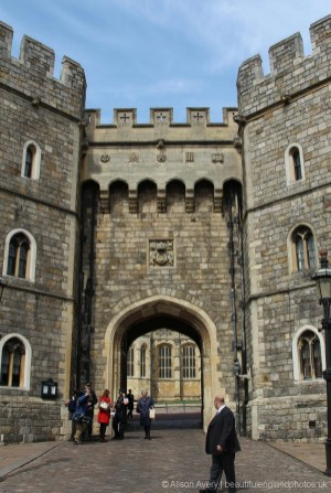 King Henry VIII Gateway, Windsor Castle, The Queen's 90th Birthday, Windsor