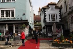 Media, Market Cross House, The Queen's 90th Birthday, Windsor